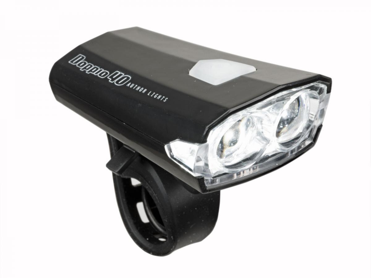 AUTHOR Světlo př. A-Doppio 40lm USB (černá)