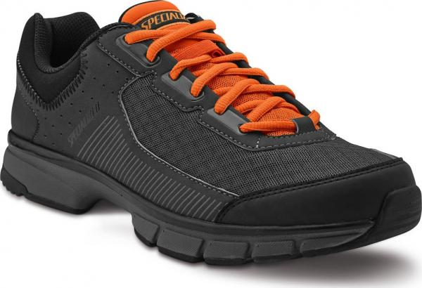 boty Specialized Cadet Black/Carbon Bright Orange