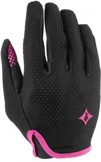 Dámské rukavice Specialized Bg Grail Glove LF Wmn - black/pink